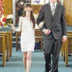 Rachel Finch and Jason Harding wedding