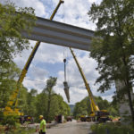 Construction of bridge over state Route 29 running ahead of schedule