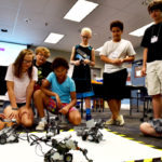 LEGO robots are taking over LCCC this week