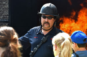 Kids learn about fire safety at LCCC camp