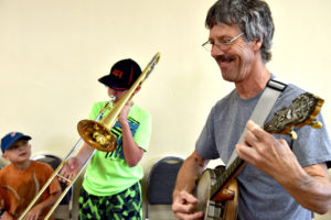 Kids enjoy 'Jammin' in a Jugband' in Tunkhannock
