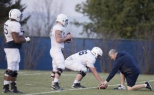 Connor McGovern and PSU's freshman O-linemen look the part