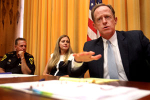 Sen. Toomey meets with NEPA officials to discuss opioid issue
