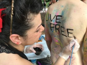 Philly Naked Bike Ride draws thousands of cyclists