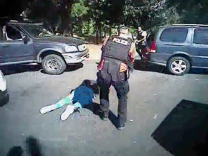 Charlotte police video: new details of shooting of Keith Scott