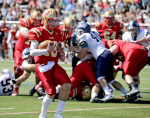 Zach Whitehead leads King's College past Lebanon Valley College