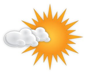 Sunny days but cool evenings today and Monday in the Wyoming Valley