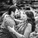 Elizabeth Bullions and Richard White engagement