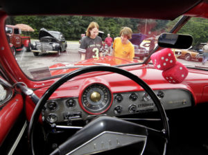 Dallas Knights of Columbus car show a success despite rainy weather