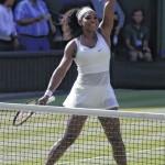 Serena swats her way back to Wimbledon finals