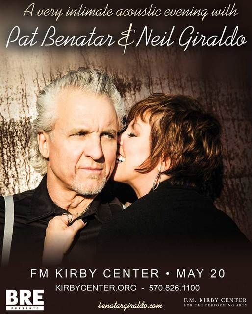 Times leader pat benatar bringing acoustic show to kirby center