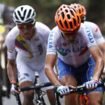 Olympic cycling course leaves riders bloodied, broken