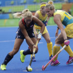 Kelsey Kolojejchick reaches milestone as USA field hockey wins again in Rio
