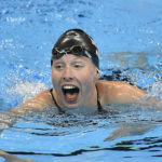 Lilly King takes down Russian rival in 100 breast