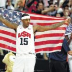 Carmelo Anthony becomes unlikely face of USA Basketball