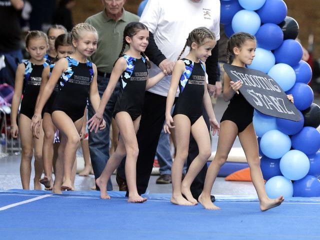 samantha warrior gymnastics meet