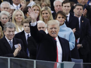 Donald J. Trump sworn in as 45th president of United States