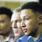 Injured 76ers rookie Ben Simmons won't play this season