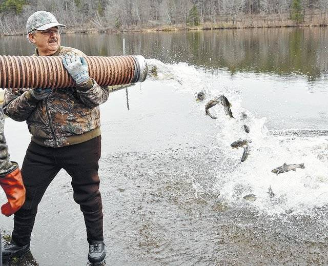 Pa trout stocking dates in Perth
