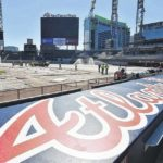 Closed interstate doesn't deter Braves fans