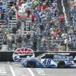 Jimmie Johnson charges late to win in Texas