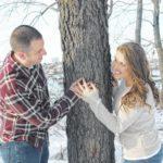 Amanda Chabala and Joshua Eggers engagement