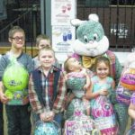 Easter party at Warrior Run Fire Hall
