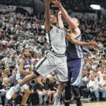 Spurs' Leonard ruled out for Game 3