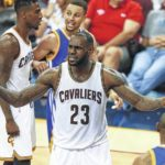 LeBron James undaunted by beastly Warriors