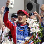 Takuma Sato holds off Helio to give Andretti another Indy 500 win