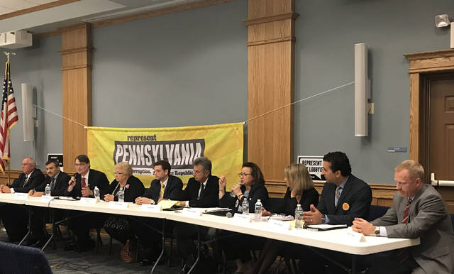 County council candidates make final pitches to voters at Pittston