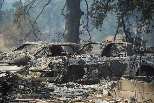 Still-recovering California county hit by another big blaze