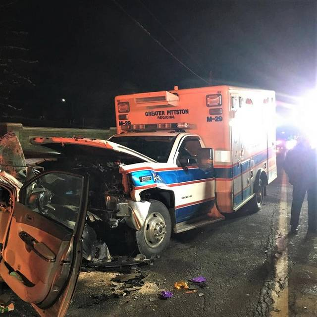 Nanticoke man charged with being high during ambulance crash | Times